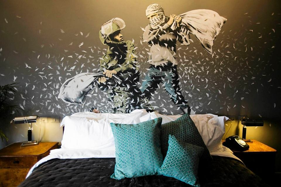 the walled off hotel banksy 1